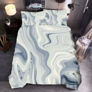 3D-Gray-And-White-Texture-Blend-KEP5989-Bed-Pillowcases-Quilt-Duvet-Cover-Kay