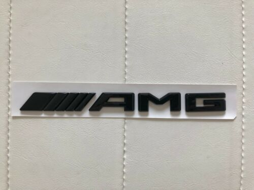 Gloss Black C63s AMG Trunk Logo Sticker Decal Emblem Badge Package for W205 C63s