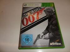 XBox 360  James Bond: Blood Stone 007