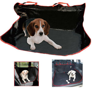 New-2-In-1-Car-Rear-Back-Seat-Cover-Waterproof-Pet-Dog-Protector-Boot-Mat-Liner