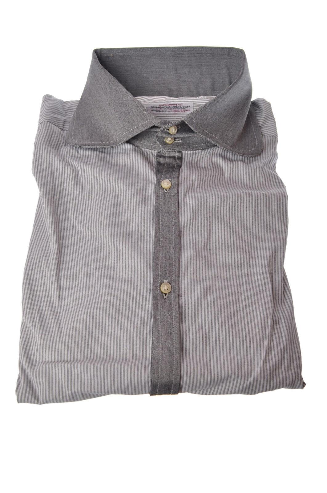 Liberty pink  -  Shirt - Male - Grey - 3470021A185830