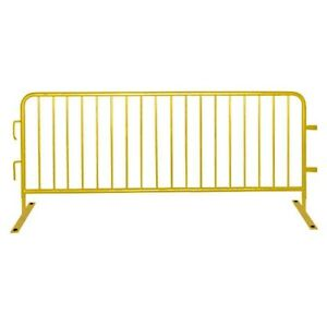 Details about Pedestrian Barriers Temporary Fencing Crowd Control Barrier  Event Guard Safety