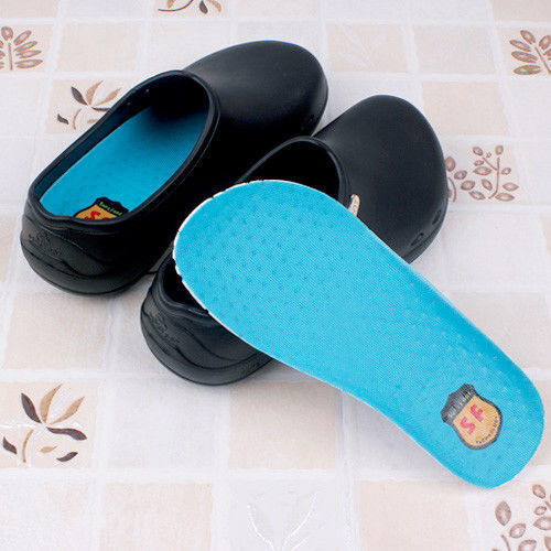 SENSFOOT SW-051 Black Sandal Slipper Non-Slip Safety Home Kitchen Bathroom_NV