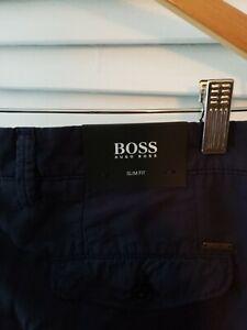 Hugo-boss-slim-fit-trouser-pants-32R-32-32