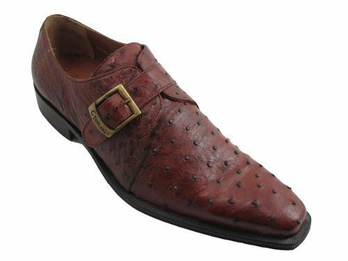 TOSCANA 6295 Men's Men's Men's Italian  Ostrich Slip On shoes 7d87f2