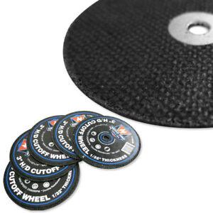 10pc-Cutoff-Wheels-3-034-x-1-32-034-x-1-4-034-inch-Disc-60-Grit-Cutting-Hard-Steel-Metal