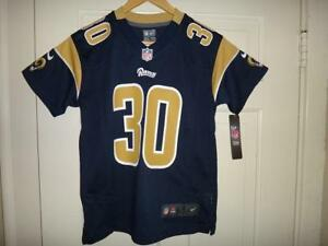 0d4f87083cc Youth Nike Todd Gurley II  30 Los Angeles Rams Team Color Game ...
