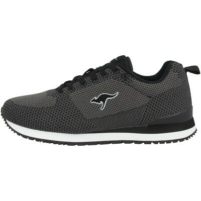 Logical Kangaroos Retro Racer Woven Schuhe Sneaker Turnschuhe Sneakers Black 81082-5003 Cleaning The Oral Cavity.