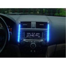 HUKITECH Auto KFZ Innenraum Tuning LED Beleuchtung mit Musik Sensor - ULTRA BLAU