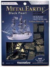 Metal Earth BLACK PEARL Pirate Ship 3D Jigsaw Puzzle Micro Model