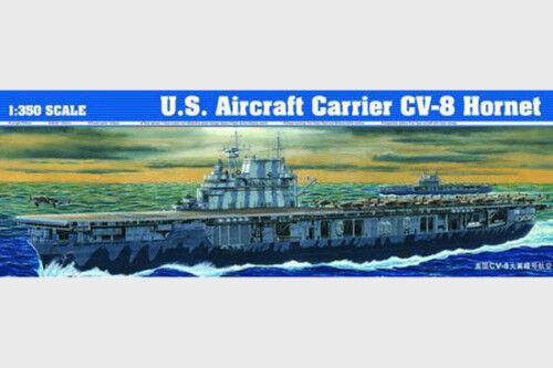 05601 Trumpeter 1 350 Scale Model U.S. Aircraft Carrier CV-8 Hornet Kit Warship