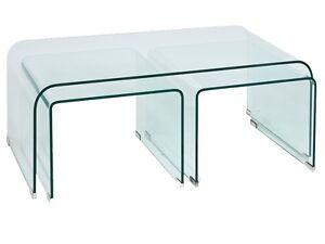 Glastisch Couchtisch Beistelltisch Tisch Sofatisch Wohnzimmer Glas Cube