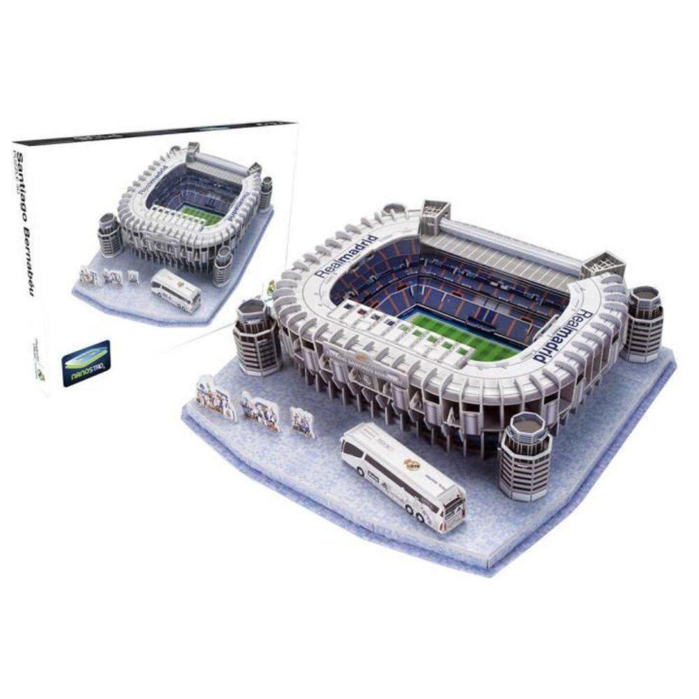 Puzzle 3D Real Madrid Stadium Santiago Bernabeu Toy Educational Boy Girl