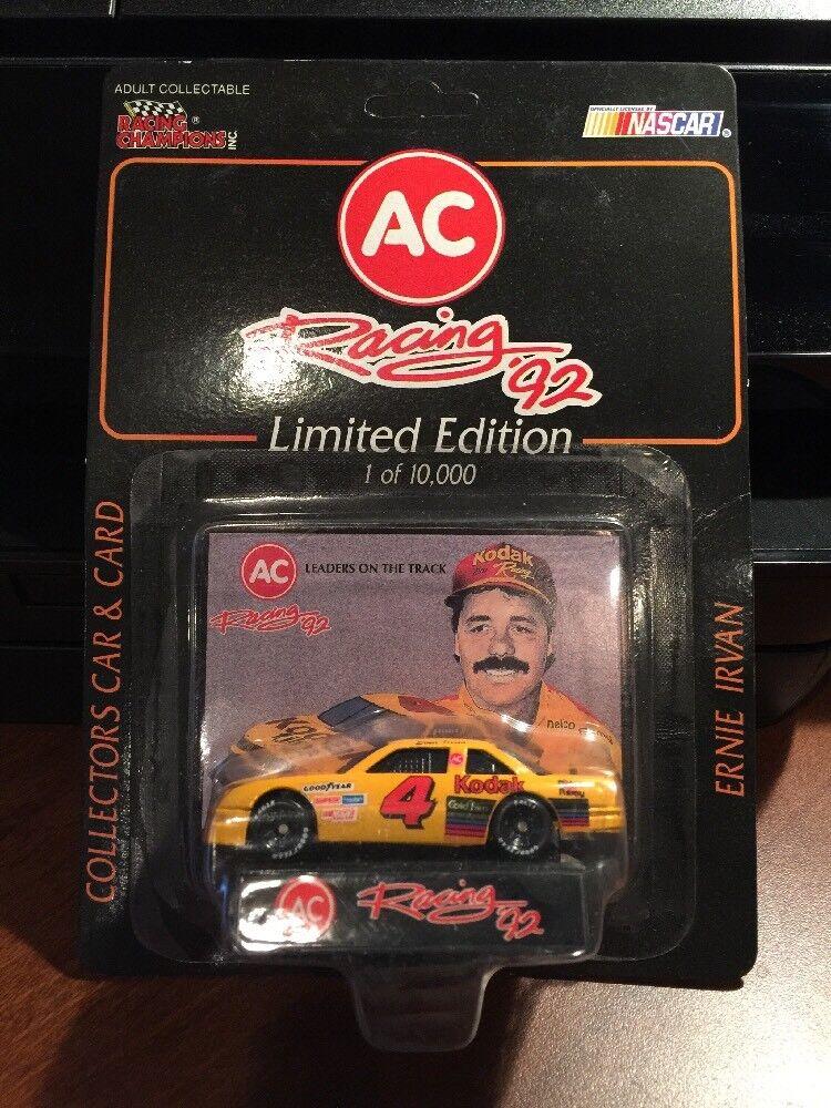 Racing Champions Ernie Irvan Kodak Film Chevrolet 1 64th AC Racing '92