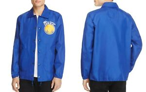 Mitchell-amp-Ness-Golden-State-Warriors-Coach-Jacket-NWT-MSRP-100