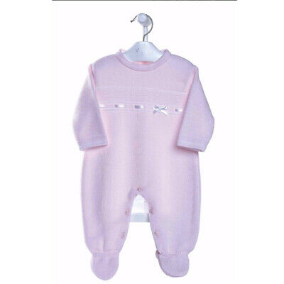 Baby Girls Spanish Traditional Knitted Outfit Set Romper 0-3 Months Romany