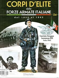 FASCICOLO - CORPI D'ELITE N. 54 - CARRISTA GRUPPO LEONESSA RSI - ITALIA 1945 - Italia - FASCICOLO - CORPI D'ELITE N. 54 - CARRISTA GRUPPO LEONESSA RSI - ITALIA 1945 - Italia