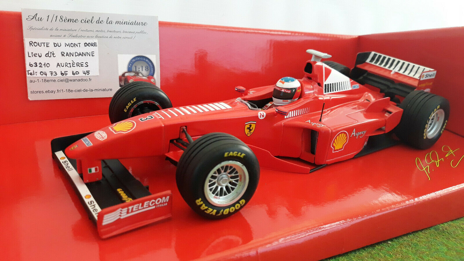 F1 FERRARI 1998 F 300   3 formule 1 SCHUMACHER 1 18 MINICHAMPS 510981803 voiture