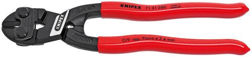 "Knipex 7131200R Cobolt /""Fencing/"" Compact Bolt Cutter W//Non-Slip Plastic Coating"