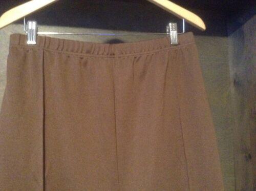 Blair Nuova Taglie Forti 26W 28W 30W 32W 34W elastico in vita PIEGA Pantaloni Pull On