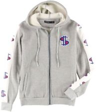 Hudson Outerwear Stack Money Graphic Print Full Zip Hoodie Sweatshirt Sz- Large