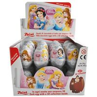 10 Eggs - Chocolate Zaini Disney PRINCESS Girls Surprise Eggs with Toy Inside