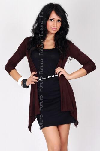 Damen s Sinnvoll Top Zarte Umhang Mantel Style Schwangerschaft Größe 8-14 FK1178