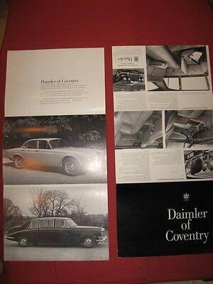N°4290 / Daimler Dépliant Berline Et Limousine Aout 1970 Een Onmisbare Soevereine Remedie Voor Thuis