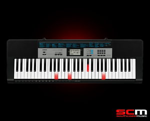 CASIO-LK136-Portable-Light-Up-Digital-Keyboard-LK-136-Adaptor-5-Year-Warranty
