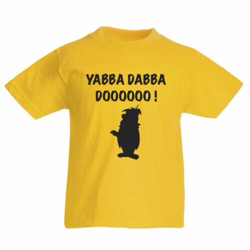 Yabba dabba doooooo! Nouveauté Enfants T-Shirt à thème personnage de dessin animé
