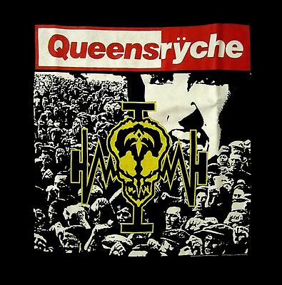 QUEENSRYCHE cd cvr OPERATION MINDCRIME Official SHIRT MED new