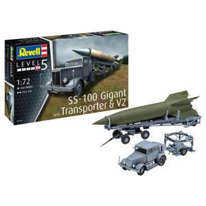 REVELL-SS-100-Gigant-V2-amp-Transporter-1-72-Space-Model-Kit-03310