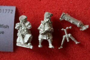 Jeux Atelier Warhammer 40k Figurine en métal au mortier Vostroyan Arme lourde Nouveau