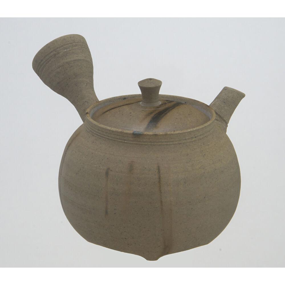 Premium Japanese Pottery Kyusu THEIERE  KATSUAKI TANIKAWA - 210cc céramique net