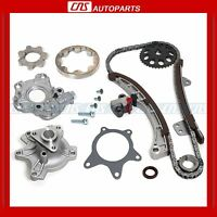 04-10 1.5l Toyota Scion 1nz-fe 1nz-fxe Timing Chain Gear Kit & Water + Oil Pump on sale