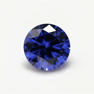 AAAA-Blue-Tanzanite-7-39ct-Unheated-12mm-Top-Round-Shape-Loose-Gemstones