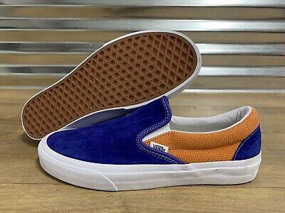 Vans Classic Slip On Skate Shoes Royal