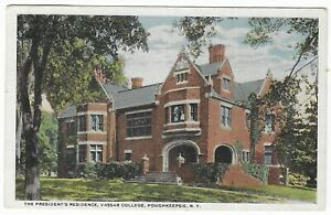 Freehold-to-Albany-New-York-1919-Star-Post-Card-Vassar-College-Poughkeepsie