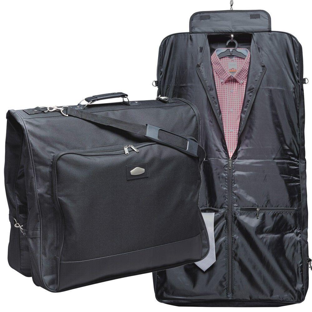 Kleidersack Anzugtasche Anzugtasche Polyester schwarz Businesskleidersack