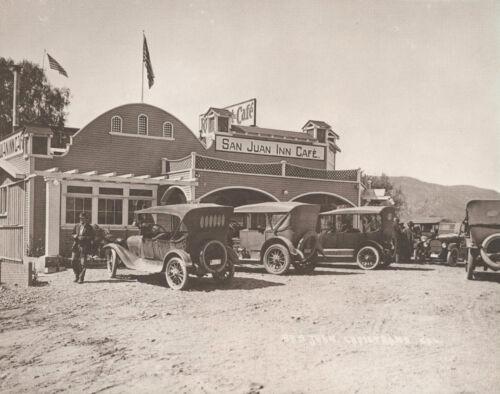 "SAN JUAN CAPISTRANO INN CAFE Vintage Photo Print #874 11/"" X 14/"""