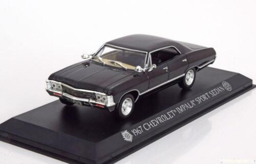 1:43 Greenlight Chevrolet Impala Sport Sedan Supernatural 1967 black