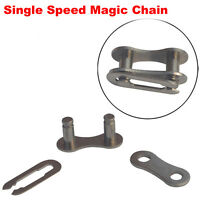 Single Speed Chain Missing Link Ii Bicycle Chain Link Magic Button (6-pairs)