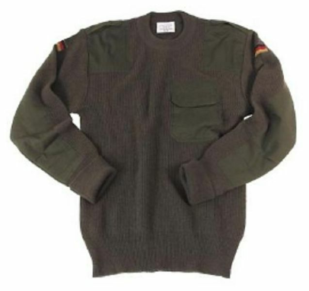 Pullover army BW Oliva Tg. 48