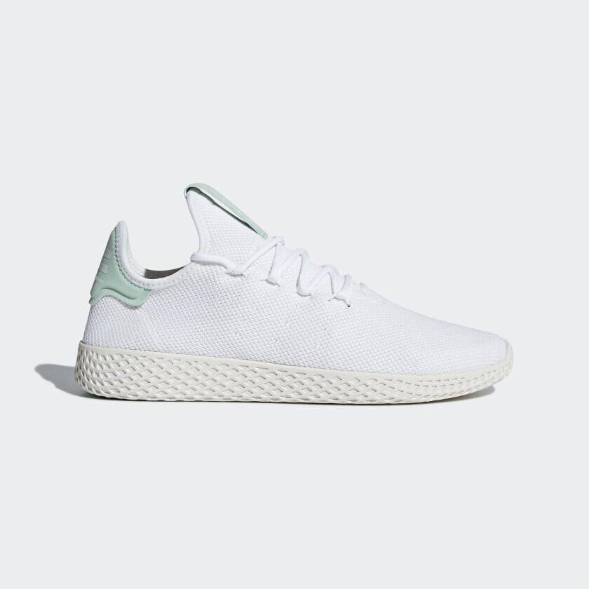 ORIGINAL Adidas Pharrell Williams Tennis Men's Size US9 EU42.5 White Mint CQ2168