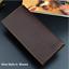 thumbnail 23 - Men Women Black Leather Phone Wallet Clutch Purse Card Cash Coin Photo ID Holder