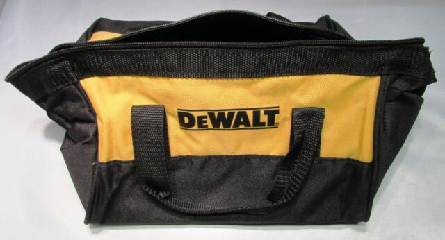 """NEW CHARGER+ USA DEWALT SOFT SIDED 12.75/"""" TOOL BAG HOLDS 2 TOOLS BATTERIES"""