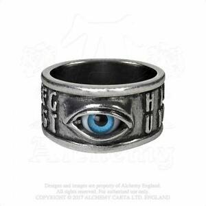 ALCHEMY-GOTHIC-OUIJA-EYE-RING-GOTH-CROWLEY-MAGICK-NEW