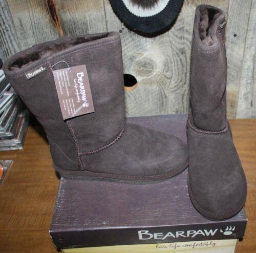 8 Bearpaw Womens 205 610w Chocolate Livraison 795240204515 gratuite Size Bottes Nib Emma X0aUdnqAA