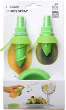 Chic 2Pcs Juice Juicer Lemon Spray Mist Orange Fruit Gadge Sprayer Kitchen US