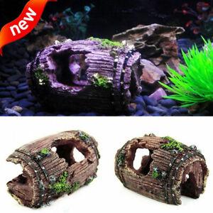 1pc-Aquarium-Fish-Tank-Artificial-Resin-Cave-Ornament-Decor-Accessories